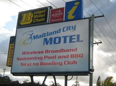 Maitland City Motel - Accommodation Coffs Harbour