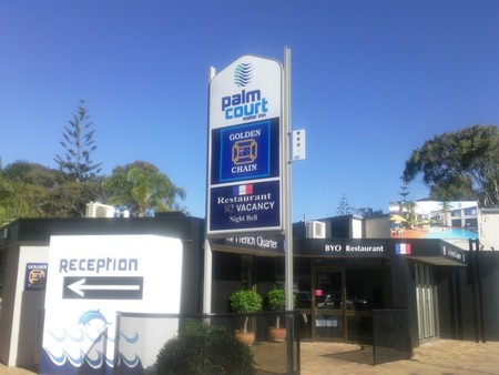 Palm Court Motor Inn - Accommodation Coffs Harbour