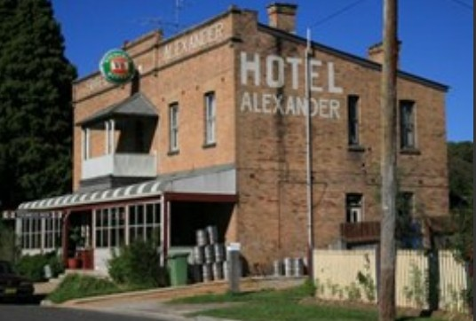 Alexander Hotel Rydal - Accommodation Coffs Harbour