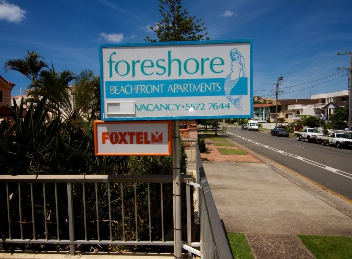 Foreshore Apartments Mermaid Beach - Accommodation Coffs Harbour