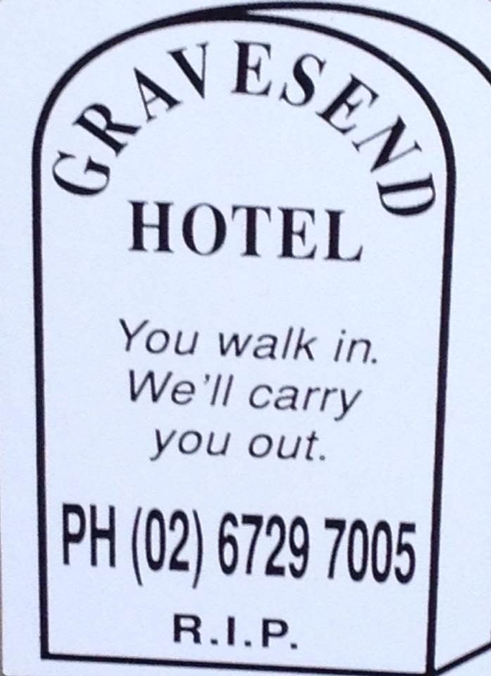 Gravesend Hotel - Accommodation Coffs Harbour