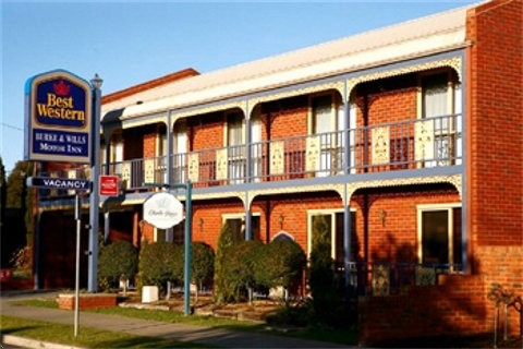 Best Western Burke amp Wills Motor Inn - Accommodation Coffs Harbour