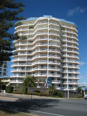 Meridian Tower - Accommodation Coffs Harbour