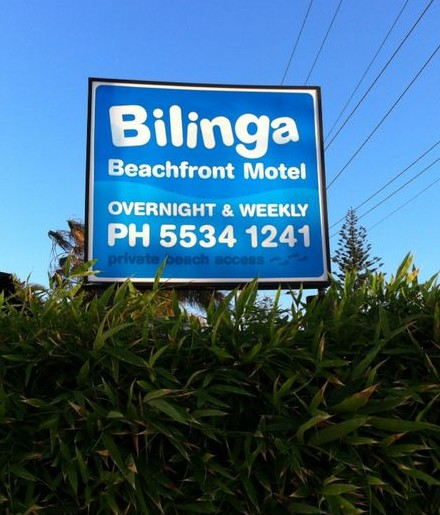 Bilinga Beach Motel - Accommodation Coffs Harbour