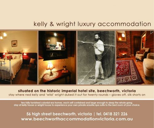 Beechworth Accommodation Victoria - Accommodation Coffs Harbour