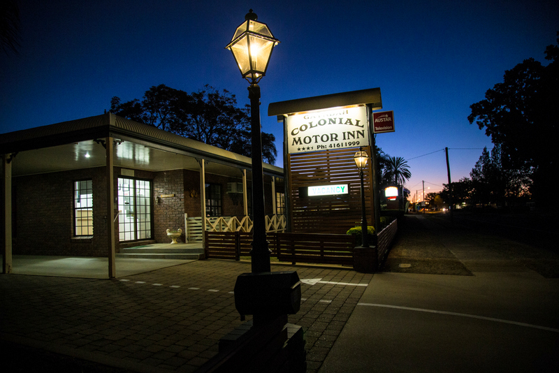 Gayndah Colonial Motor Inn - Accommodation Coffs Harbour