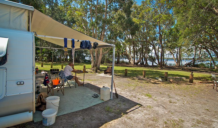 Dees Corner campground - Accommodation Coffs Harbour
