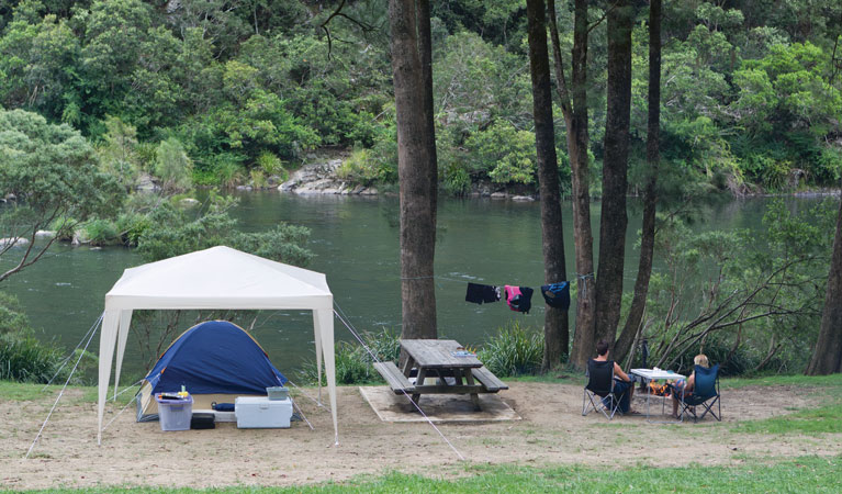 Platypus Flat campground - Accommodation Coffs Harbour