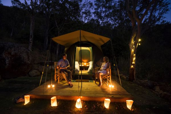 Keswick Island Camping and Glamping - Accommodation Coffs Harbour