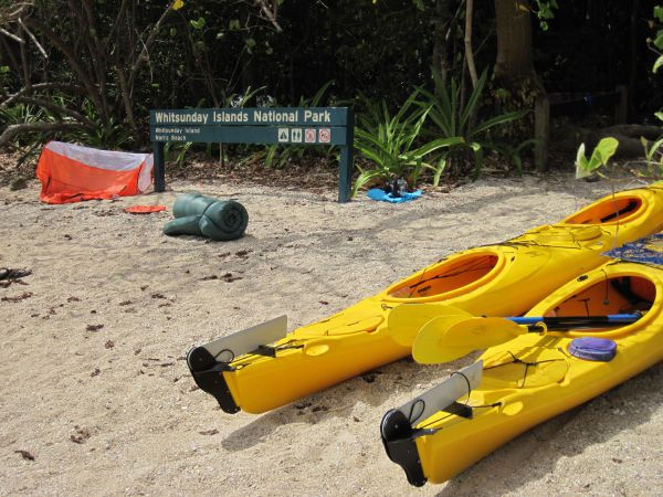 Molle Island National Park Whitsundays National Park Camping Ground - Accommodation Coffs Harbour