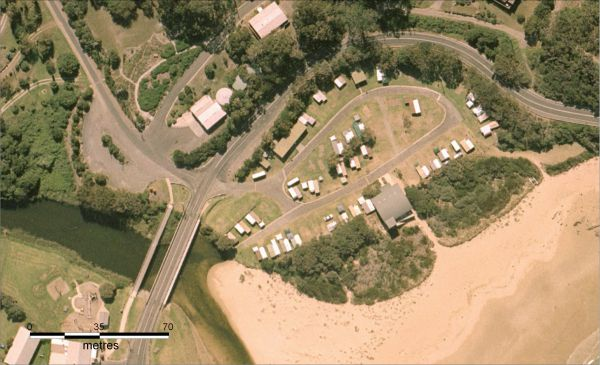 Wye River Beachfront Campground - Accommodation Coffs Harbour