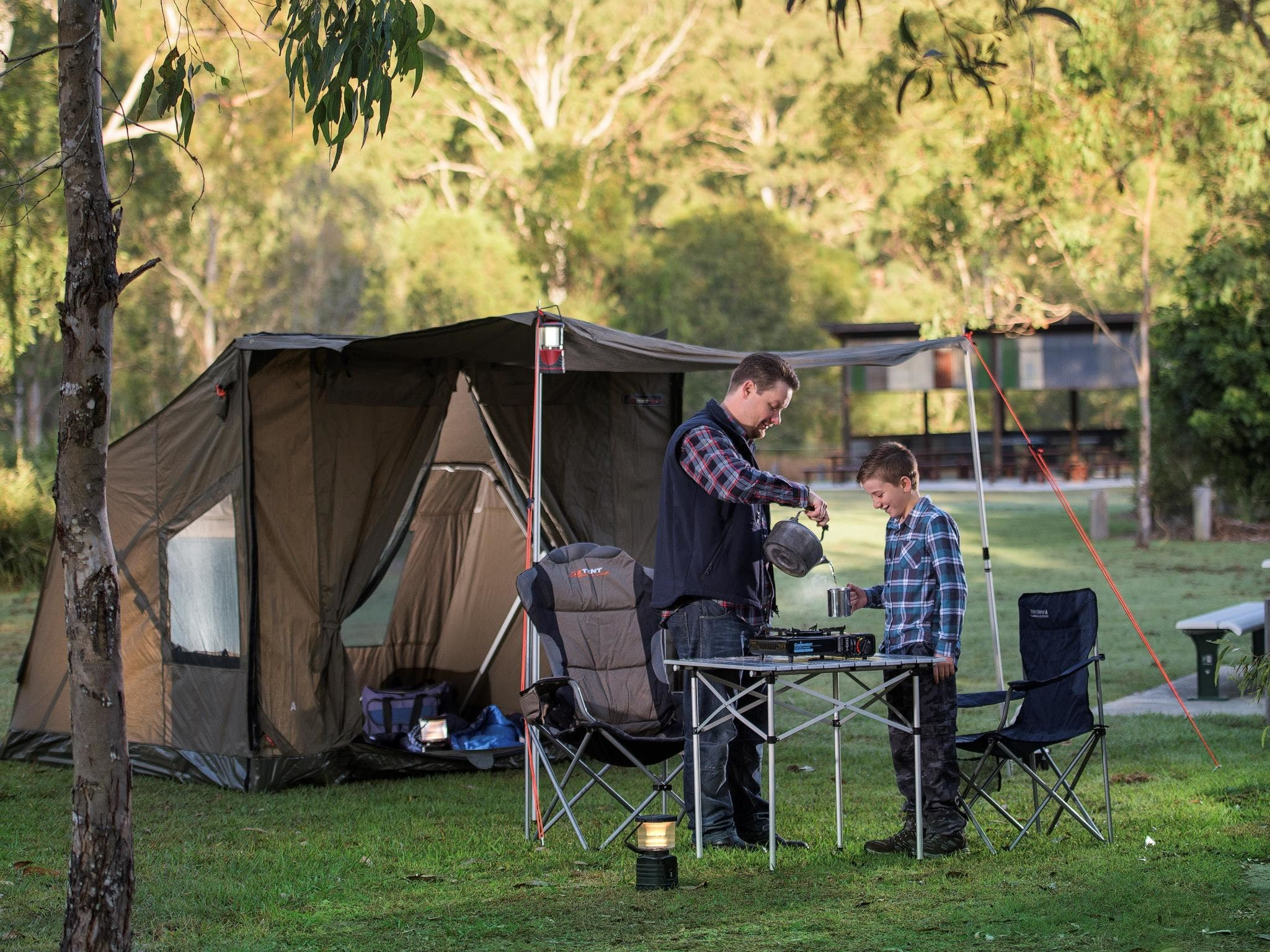 Hardings Paddock Campground - Accommodation Coffs Harbour
