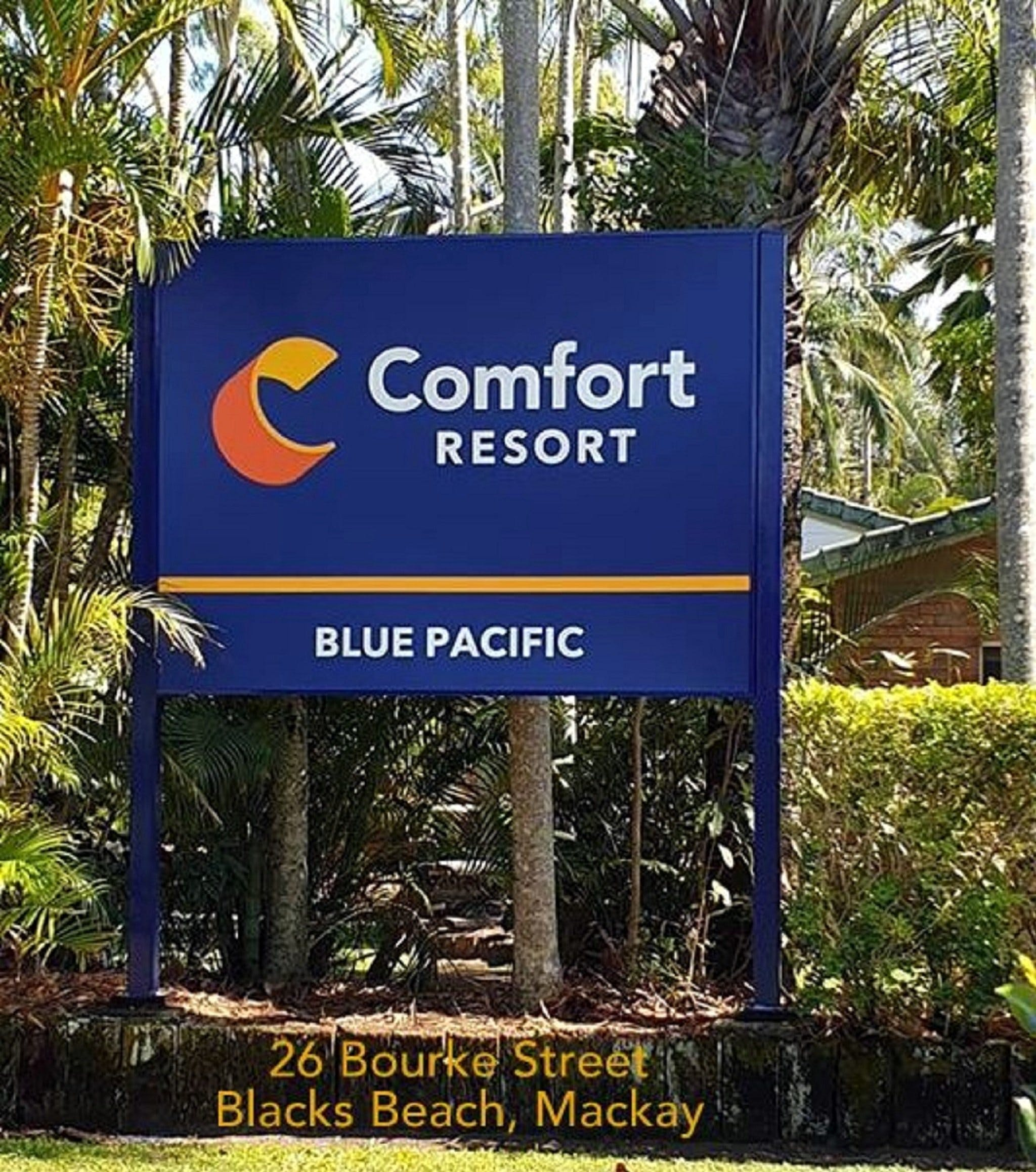 Comfort Resort Blue Pacific - Accommodation Coffs Harbour