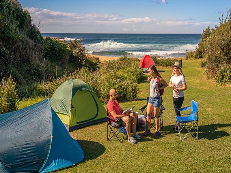 Little Beach campground - Accommodation Coffs Harbour