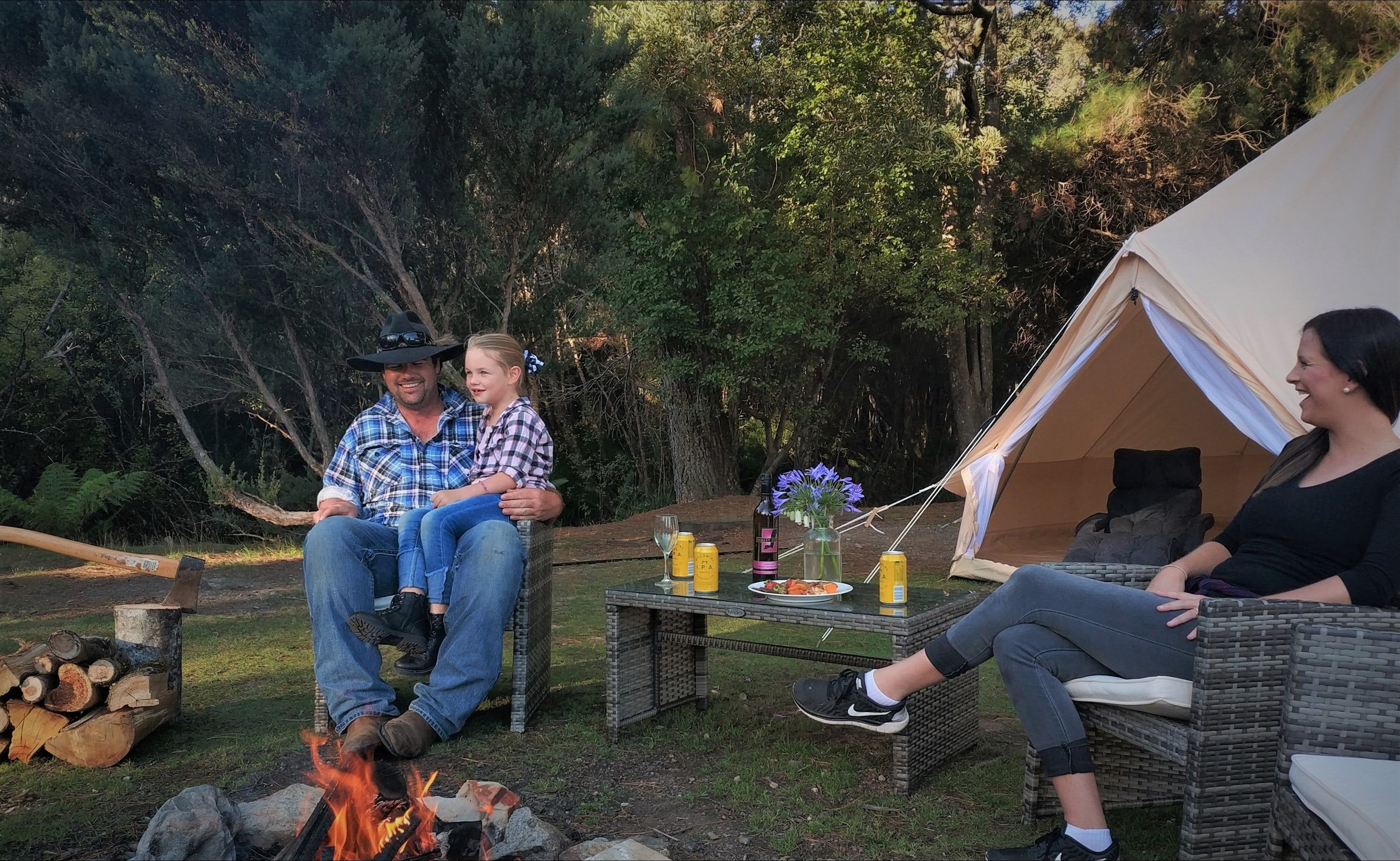 Zeehan Bush Camp - Accommodation Coffs Harbour