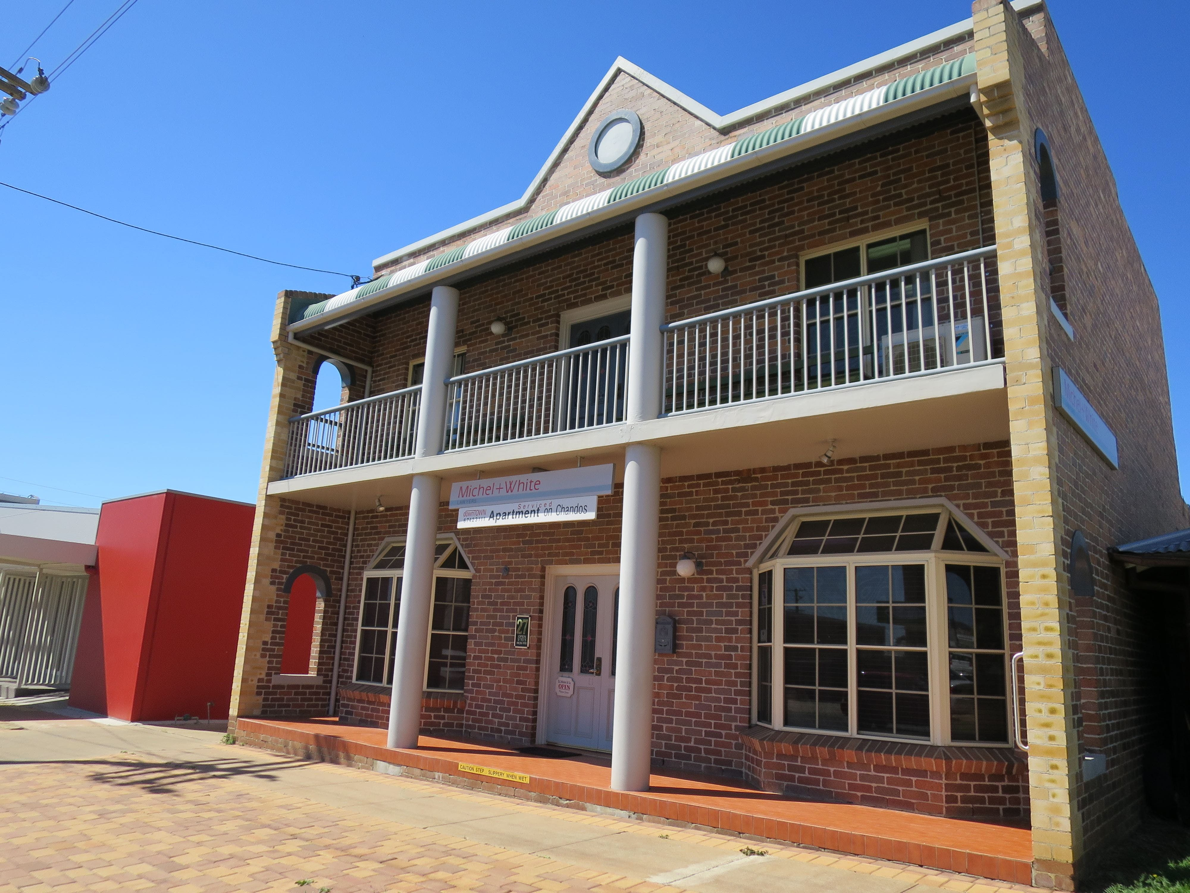Downtown Apartment on Chandos - Accommodation Coffs Harbour