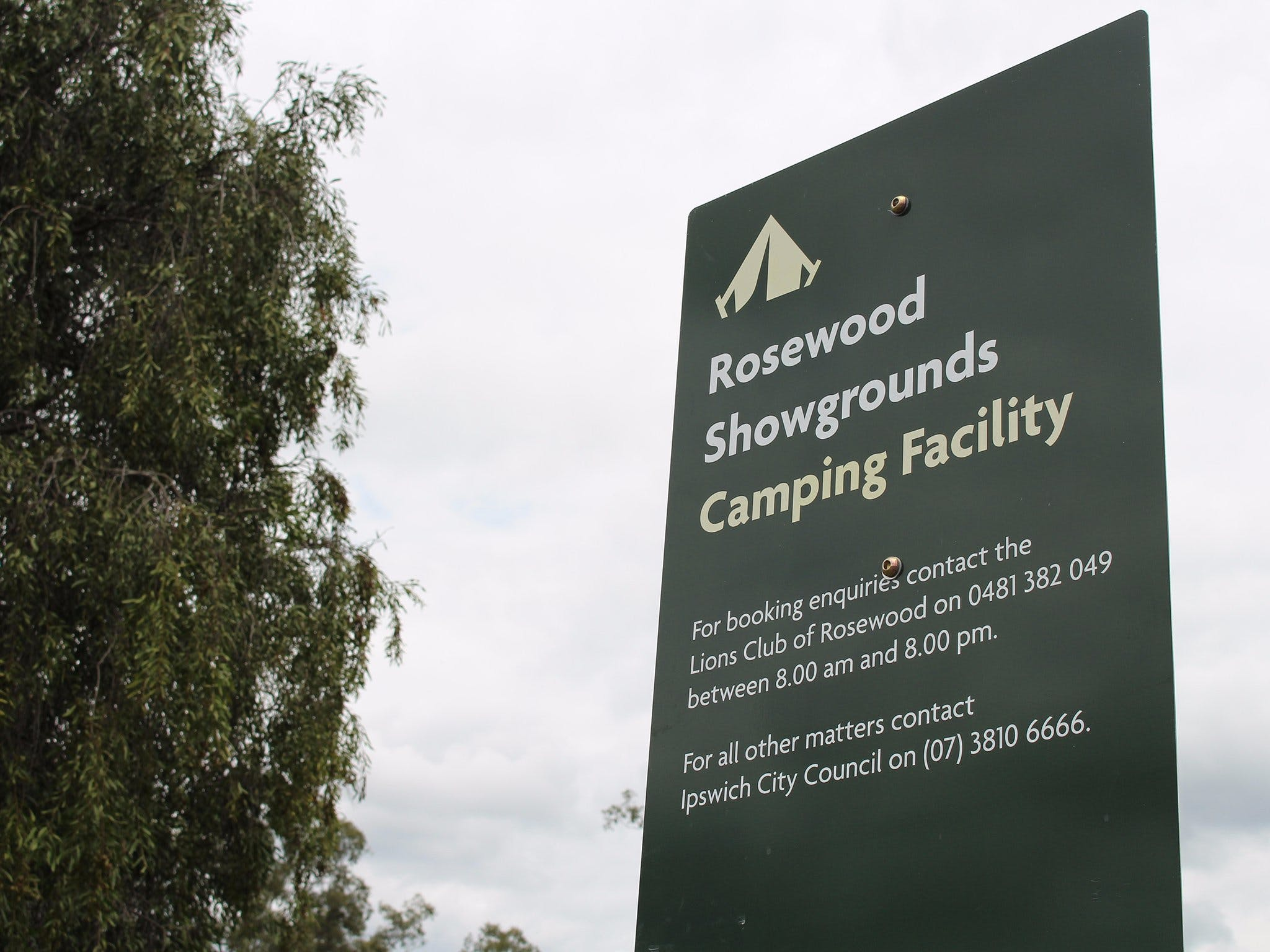 Rosewood Showgrounds Camping Facility - Accommodation Coffs Harbour
