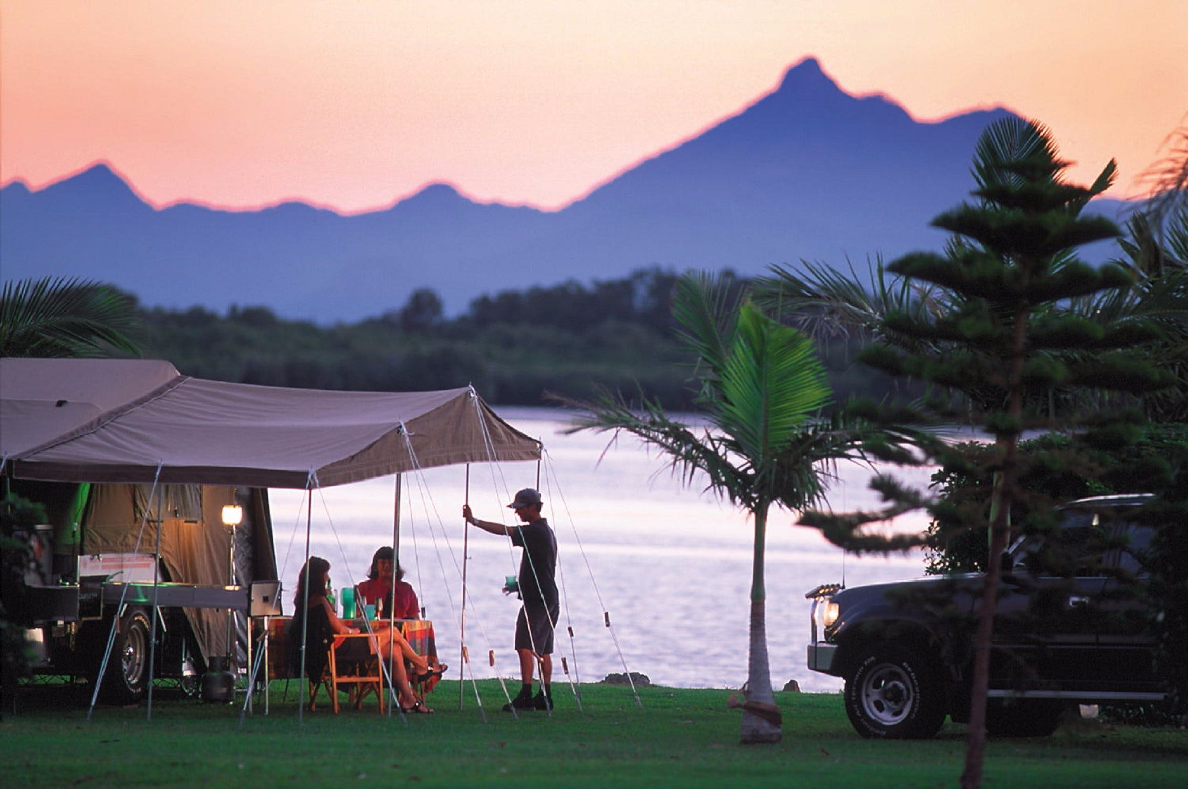 Tweed River Hacienda Holiday Park - Accommodation Coffs Harbour