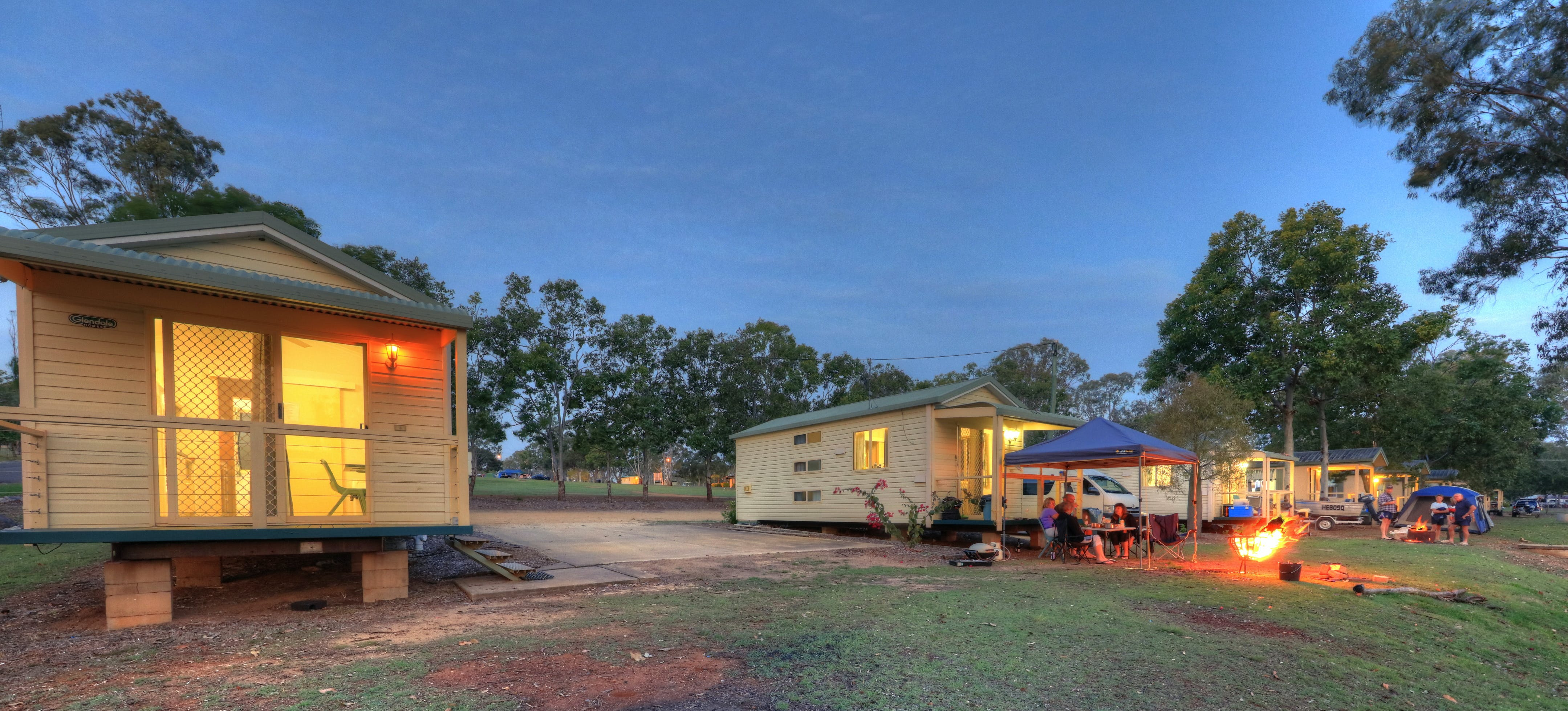 Yallakool Caravan Park on BP Dam - Accommodation Coffs Harbour