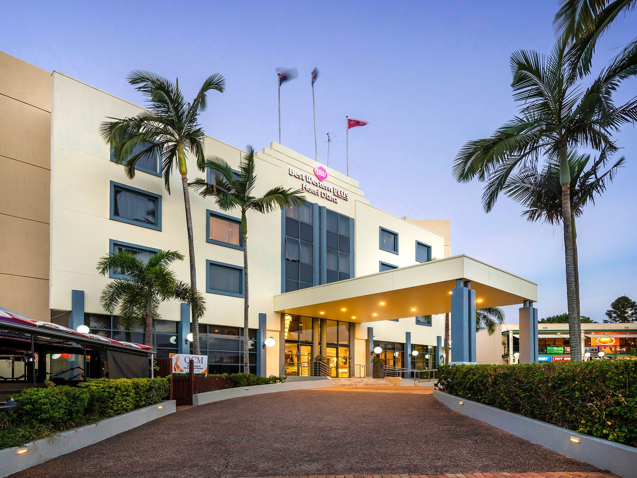 Best Western Plus Hotel Diana - Accommodation Coffs Harbour