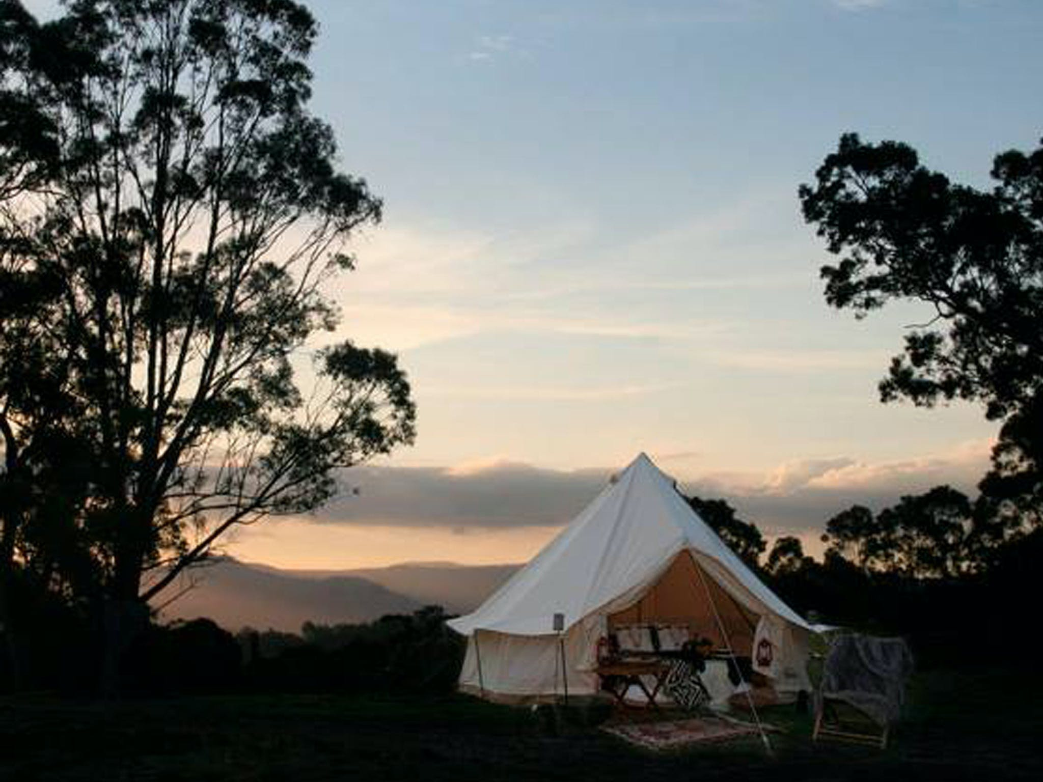 Megalong Valley Glamping - Accommodation Coffs Harbour