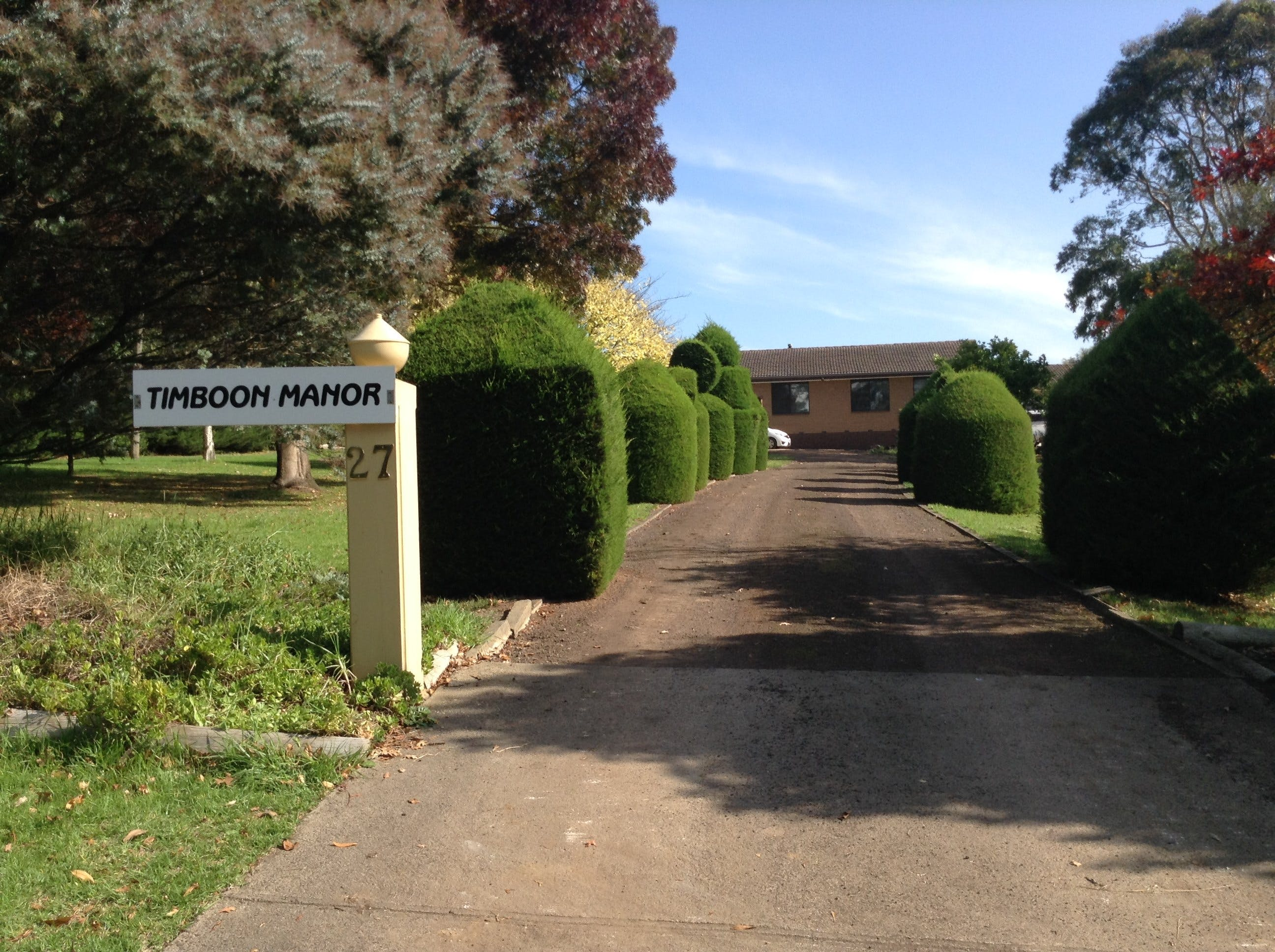 Timboon Manor - Accommodation Coffs Harbour