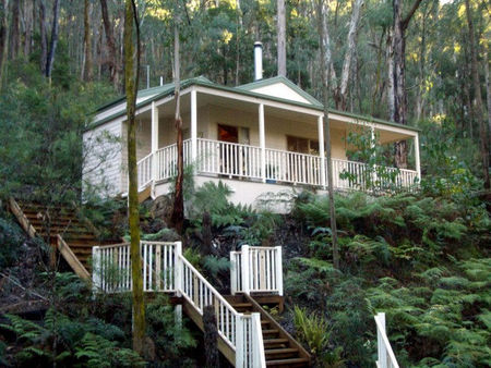 Myers Creek Cascades Luxury Cottages - Accommodation Coffs Harbour