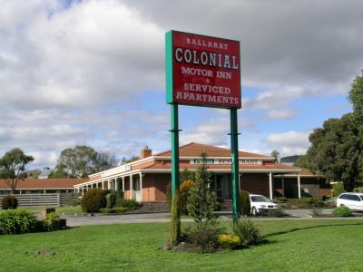 Ballarat Colonial Motor Inn - Accommodation Coffs Harbour