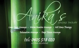 Anikas Massage Therapy - Accommodation Coffs Harbour