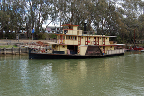 Emmylou Paddle Steamer - Accommodation Coffs Harbour