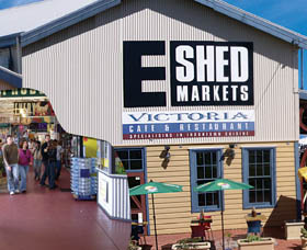 The E Shed Markets - Accommodation Coffs Harbour