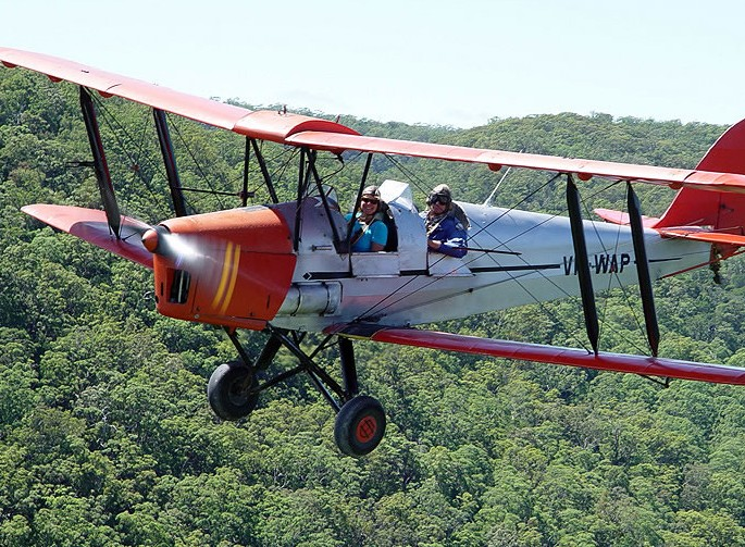 Tigermoth Joy Rides