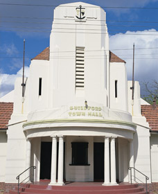 Guildford Town Hall - Accommodation Coffs Harbour
