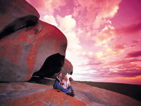 Remarkable Rocks Flinders Chase National Park - Accommodation Coffs Harbour