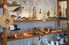 Touchwood Craft Gallery, Gifts and Cafe
