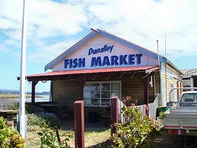Dunalley Fish Market - Accommodation Coffs Harbour