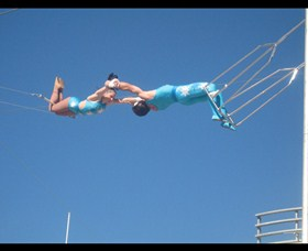 Trix Circus Flying Trapeze - Accommodation Coffs Harbour