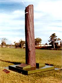 The Flood Memorial or The Stump - Accommodation Coffs Harbour