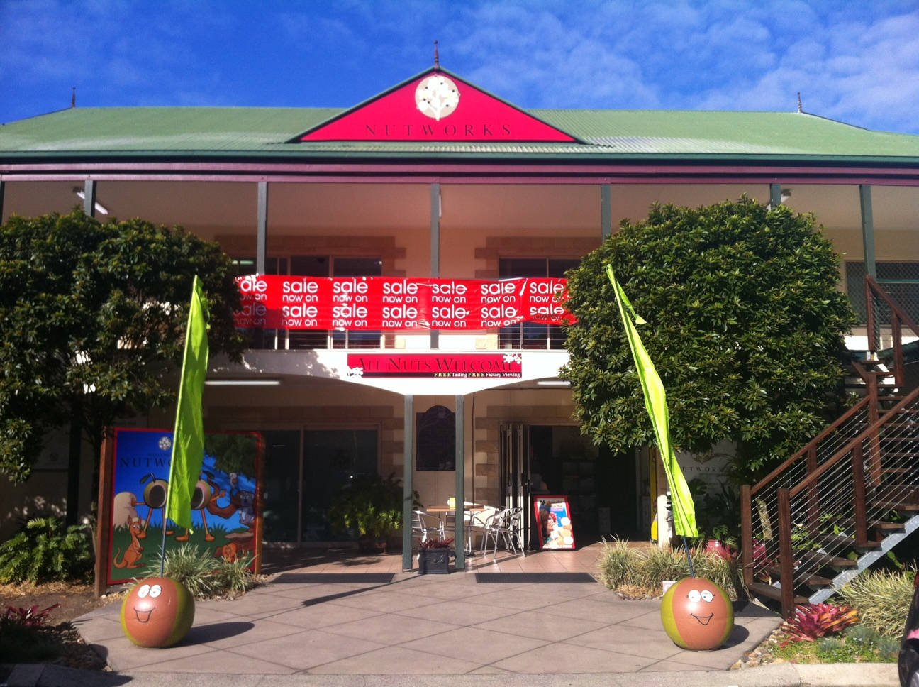 Nutworks - Accommodation Coffs Harbour