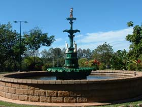 Band Rotunda and Fairy Fountain - Accommodation Coffs Harbour