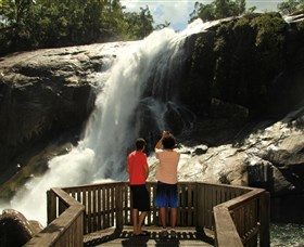 Murray Falls Girramay National Park - Accommodation Coffs Harbour