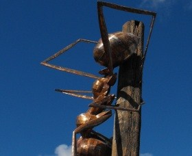 Augathella Meat Ant Park and Sculpture - Accommodation Coffs Harbour