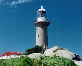 Montague Island Lighthouse - Accommodation Coffs Harbour