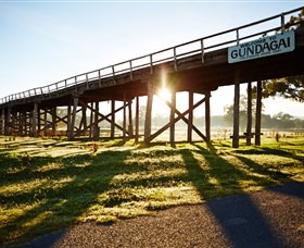 Historic Bridges of Gundagai - Accommodation Coffs Harbour
