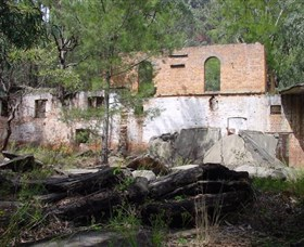 Newnes Shale Oil Ruins - Accommodation Coffs Harbour