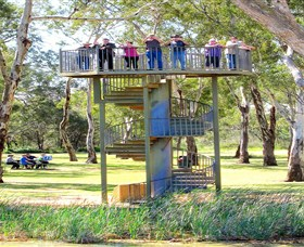 Darling and Murray River Junction and Viewing Tower - Accommodation Coffs Harbour