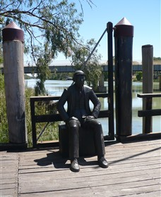 Captain John Egge Statue - Accommodation Coffs Harbour