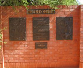 John OBrien Commemorative Wall - Accommodation Coffs Harbour