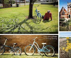 Grong Grong Borrow Bikes - Accommodation Coffs Harbour