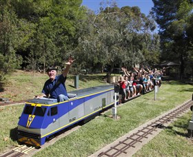 Willans Hill Miniature Railway - Accommodation Coffs Harbour